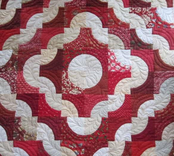 Dunkard's Path Quilt by Pam Schoessow