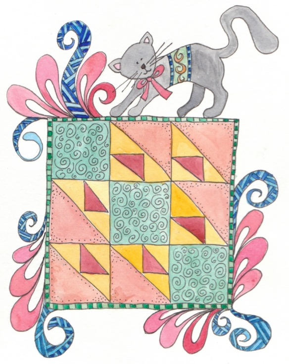 Quilt Block 2   Cat's Cradle
