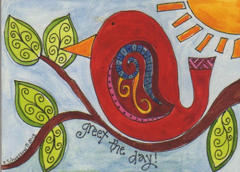 Greet the day pamelajeannestudio image m4hsunfo