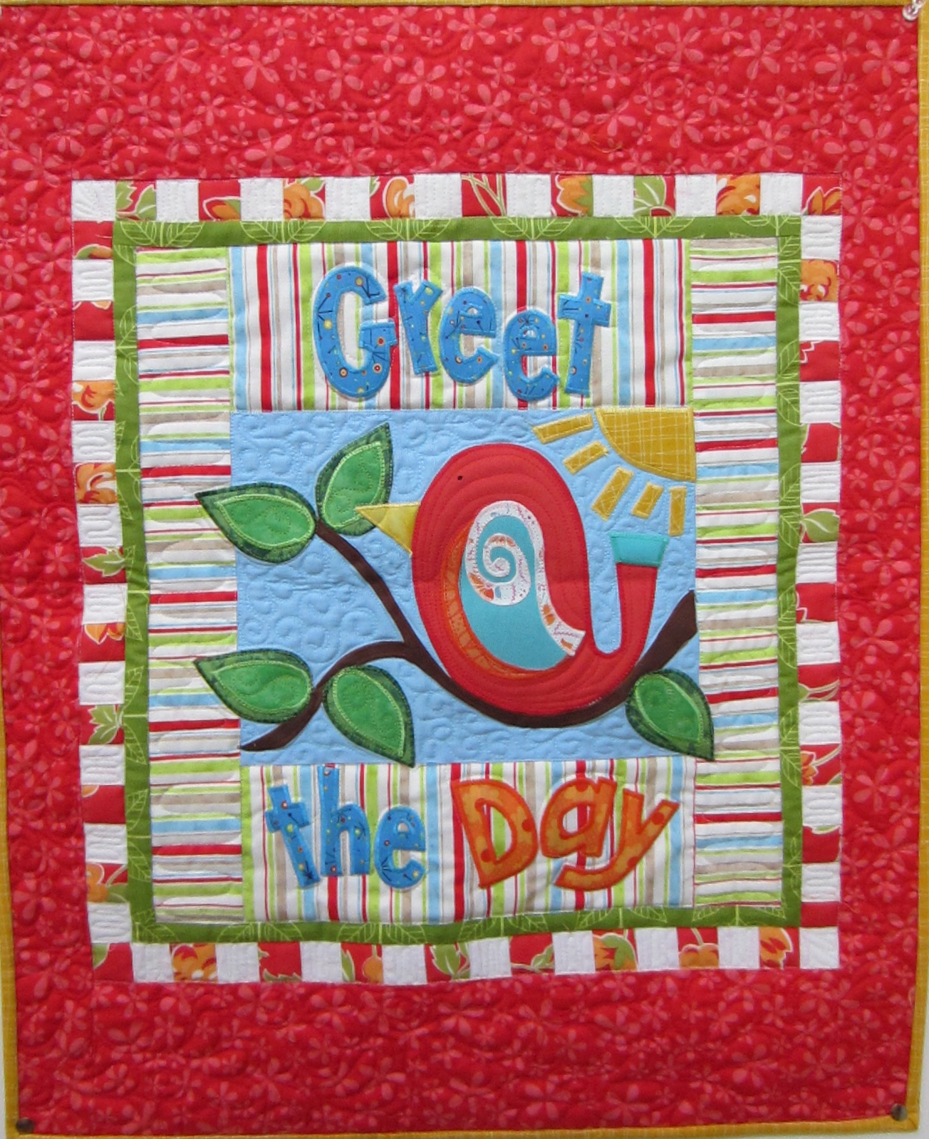 June 2014 pamelajeannestudio greet the day quilt m4hsunfo