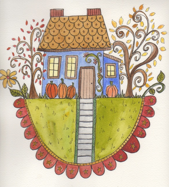 Home in Autumn