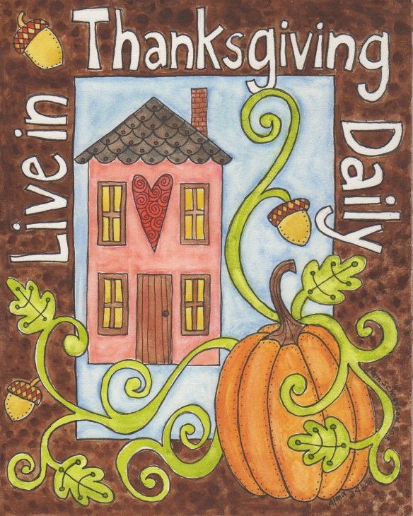 Live in Thanksgiving Daily  by Pam Schoessow1