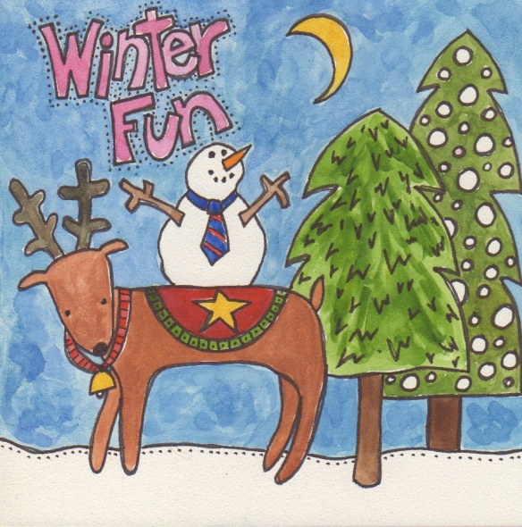 Winter Fun by Pam Schoessow