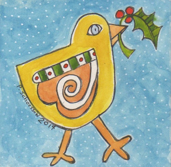 Christmas Chick by Pam Schoessow