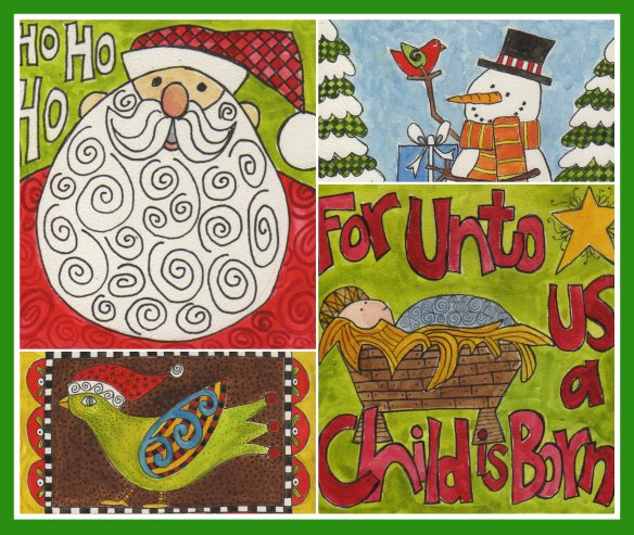 Christmas Collage Dec2014 by Pam Schoessow
