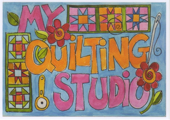 My Quilting Studio  by Pam Schoessow