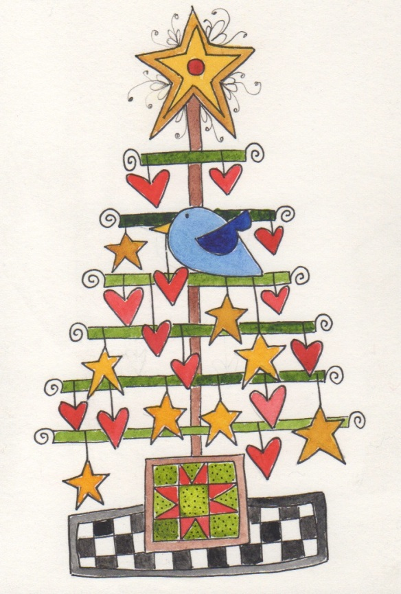 O Christmas Tree  by Pam Schoessow