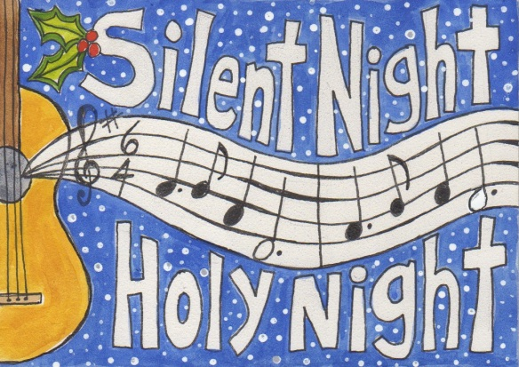 "Did you know that in the first performance of ""Silent Night"" the singers were accompanied by a guitar because the church organ was broken?"
