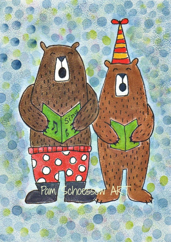 Two Bearatones by Pam Schoessow