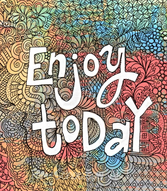 Enjoy Today doodle 2