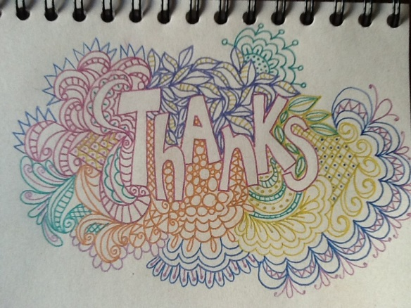Thanks Doodle by Pam Schoessow