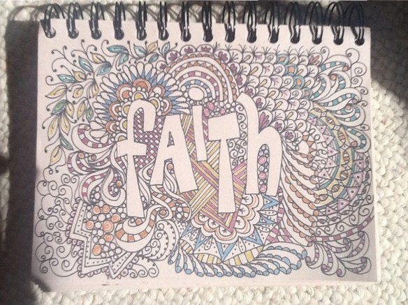 Faith Doodle by Pam Schoessow
