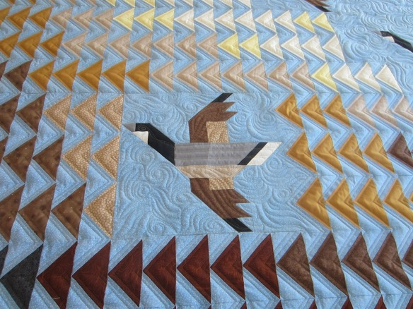 Flying Geese quilt by Sandy