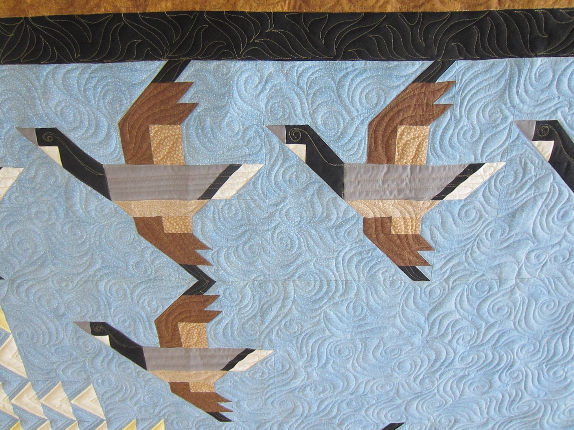 Flying Geese Quilt | pamelajeannestudio : flying geese quilt block pattern - Adamdwight.com