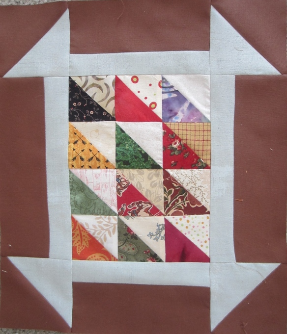 original block by Pam Schoessow