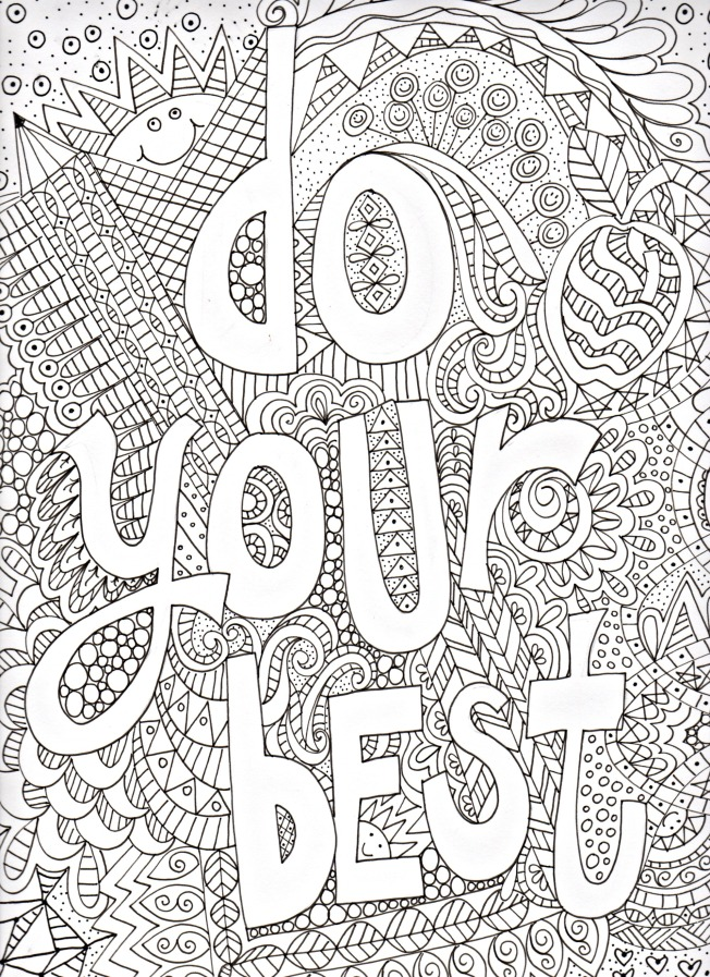Get out those colored pencils and have some doodle fun!