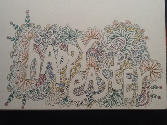 Happy Easter by Pam Schoessow