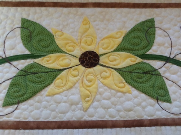 Georgia's floral applique