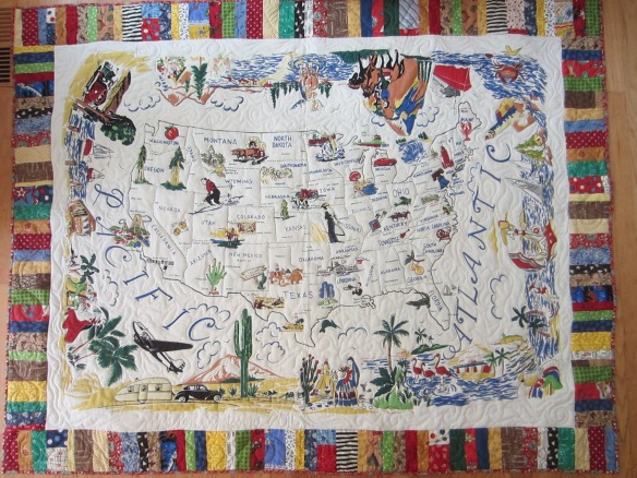 America the Beautiful quilt by Pam Schoessow