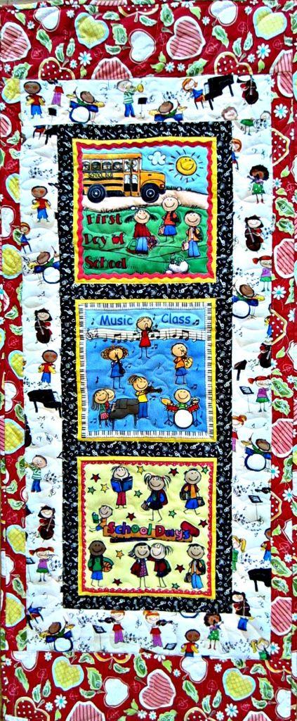 original quilt by Pam Schoessow  pamelajeannestudio.com