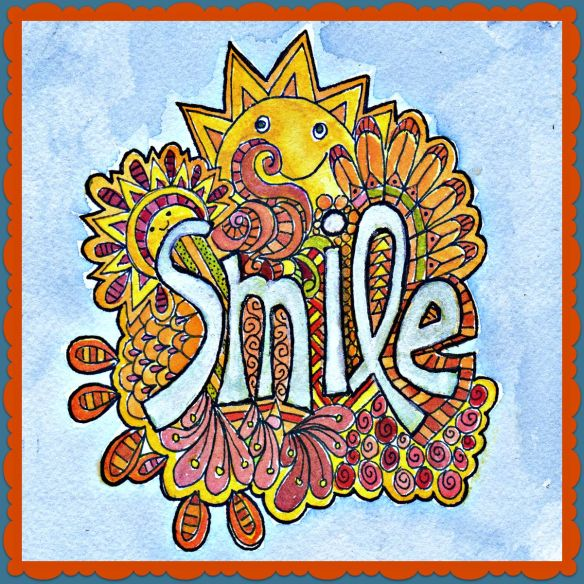 Smile by Pam Schoessow  pamelajeannestudio.com