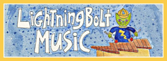 Lightning Bolt Music  original artwork by Pam Schoessow