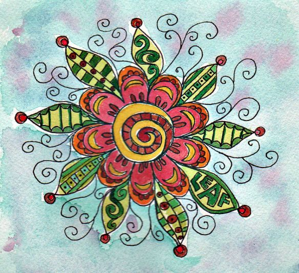 Fiesta Flower by Pam Schoessow