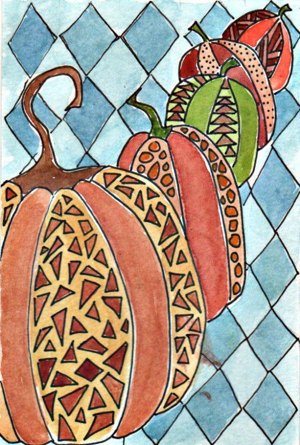 Pumpkins by Pam Schoessow