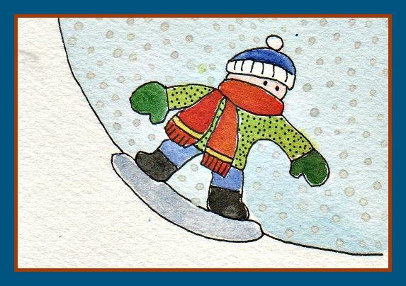 Snowboarderframed